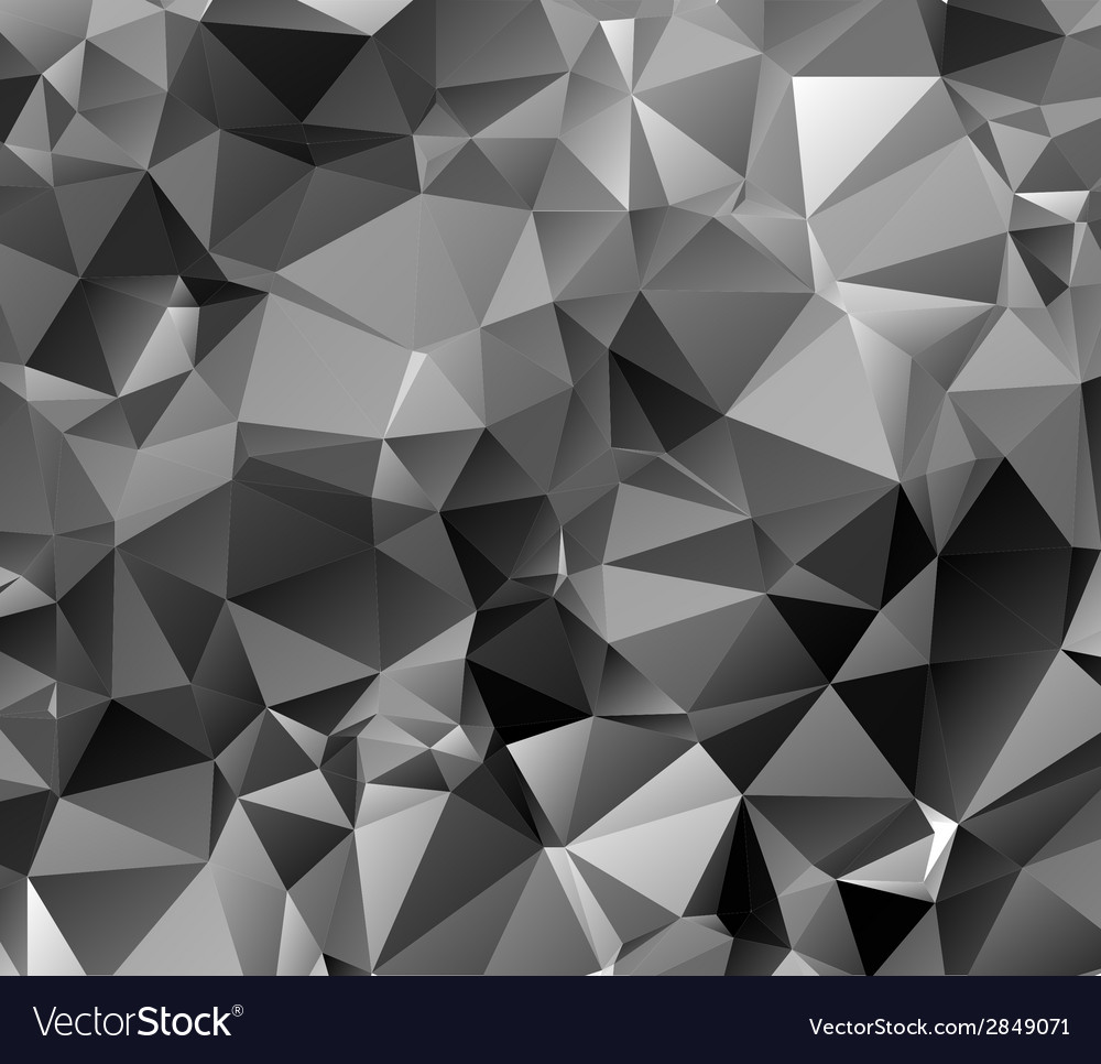 Black triangle abstract background vector | Price: 1 Credit (USD $1)