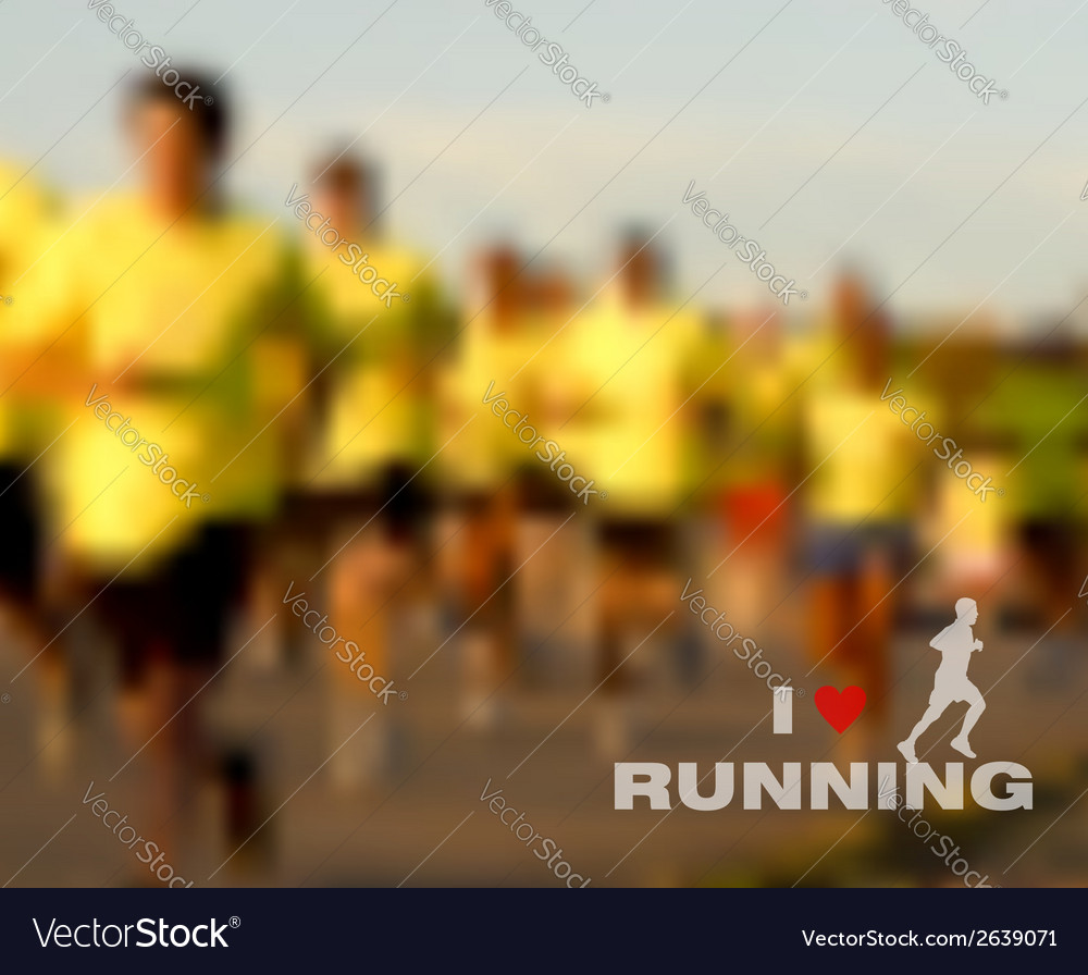 I love running blurred background vector | Price: 1 Credit (USD $1)