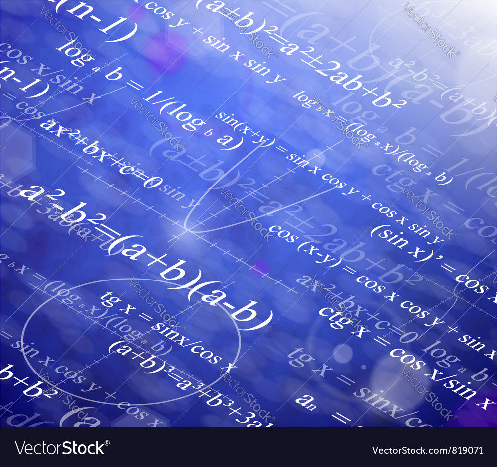 Mathematical background vector | Price: 1 Credit (USD $1)