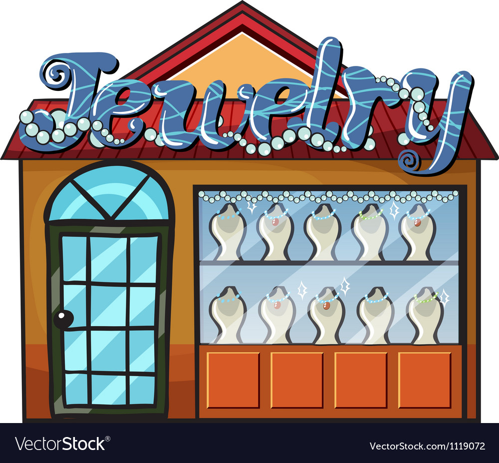 A jewelry shop vector | Price: 1 Credit (USD $1)