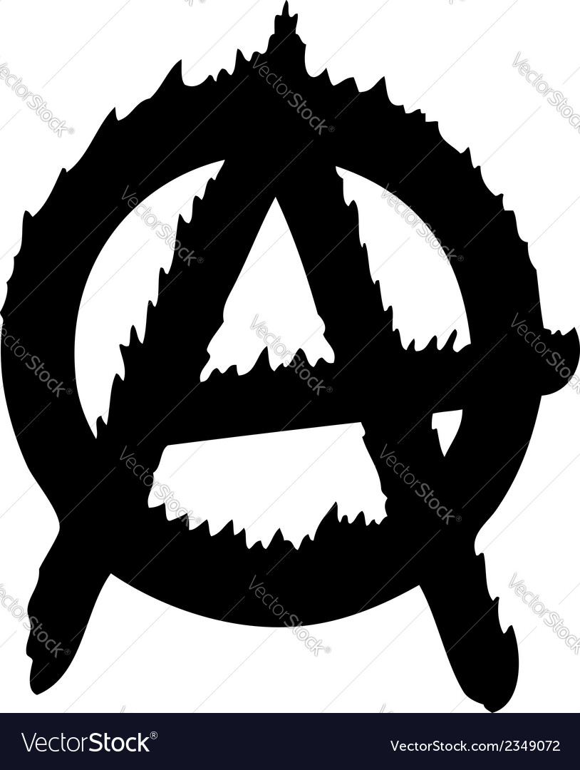 Anarchy logo vector | Price: 1 Credit (USD $1)