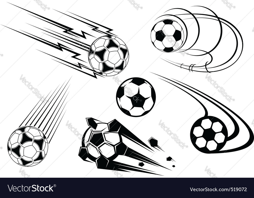 Football icons vector | Price: 1 Credit (USD $1)