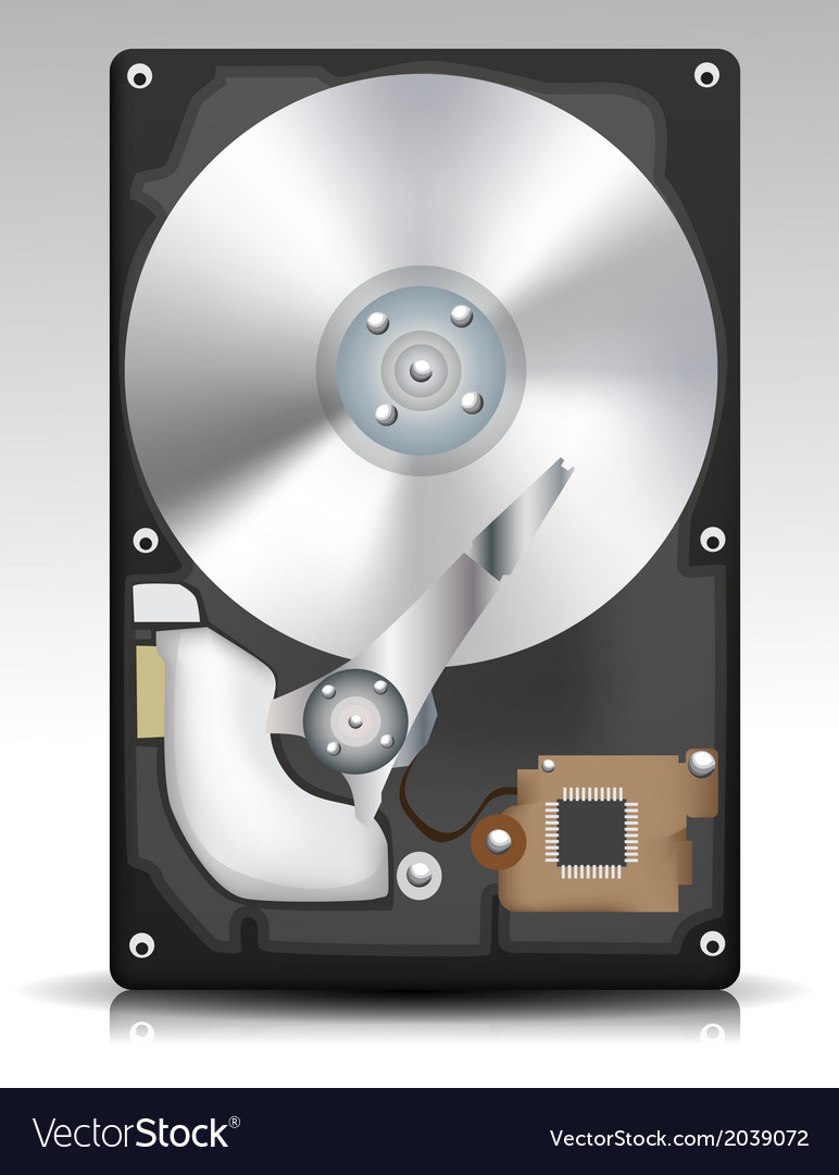 Hard disk vector | Price: 1 Credit (USD $1)