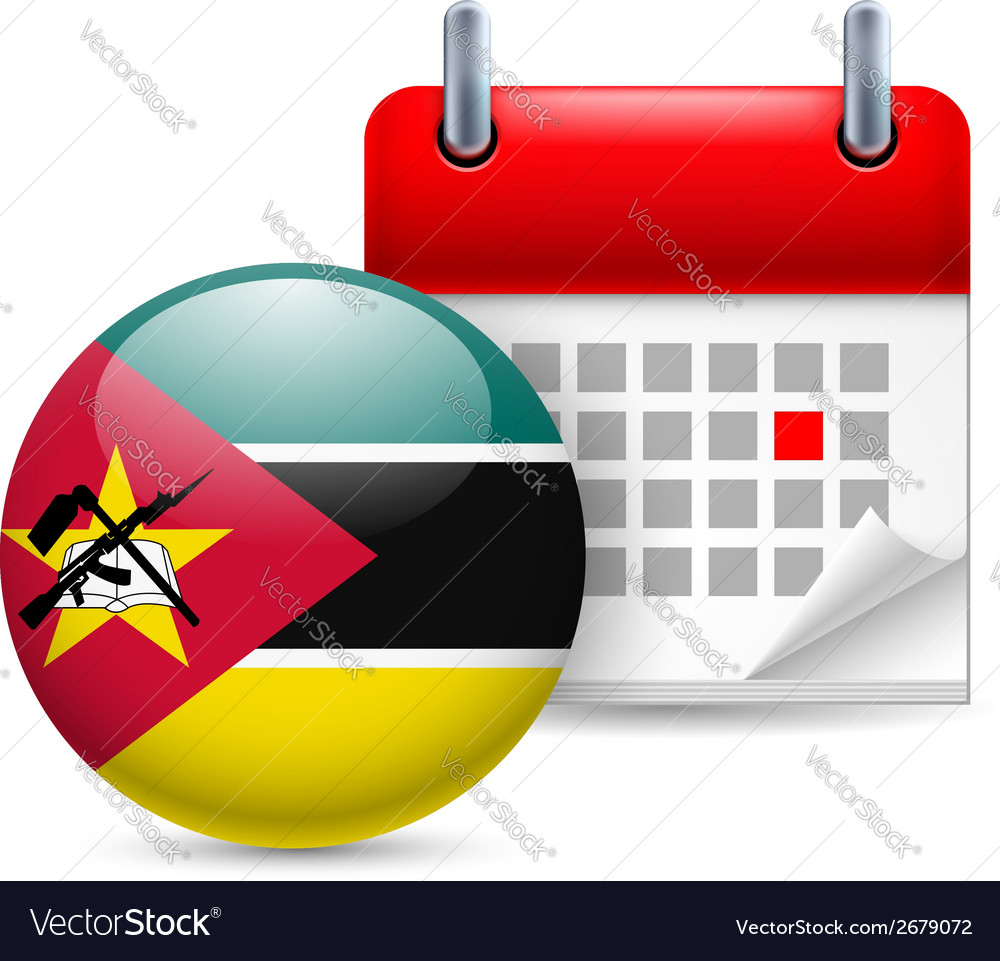 Icon of national day in mozambique vector | Price: 1 Credit (USD $1)
