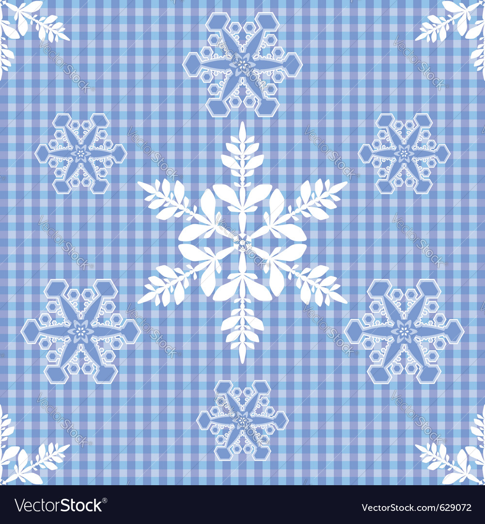Seamless snow background vector | Price: 1 Credit (USD $1)