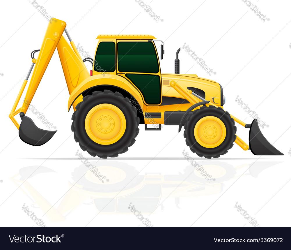 Tractor 04 vector | Price: 3 Credit (USD $3)