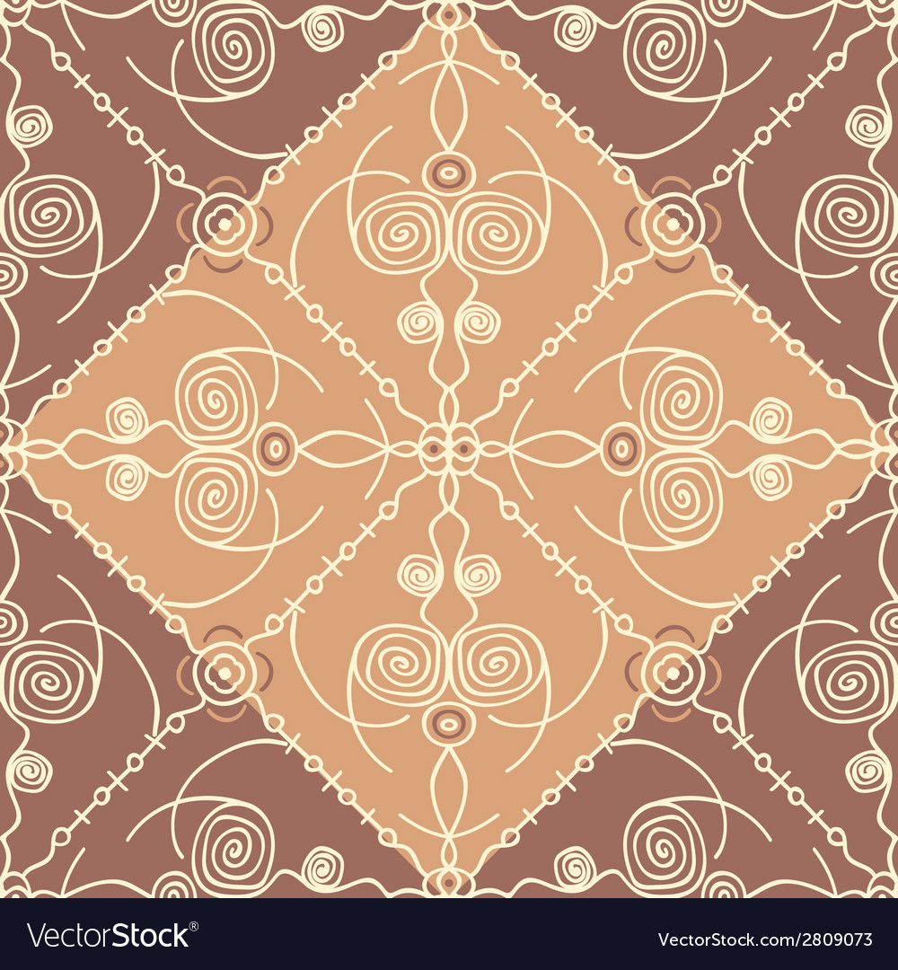 Abstract east seamless pattern vector | Price: 1 Credit (USD $1)