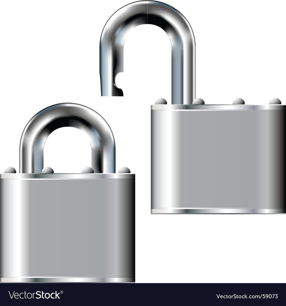 Pad lock vector | Price: 1 Credit (USD $1)