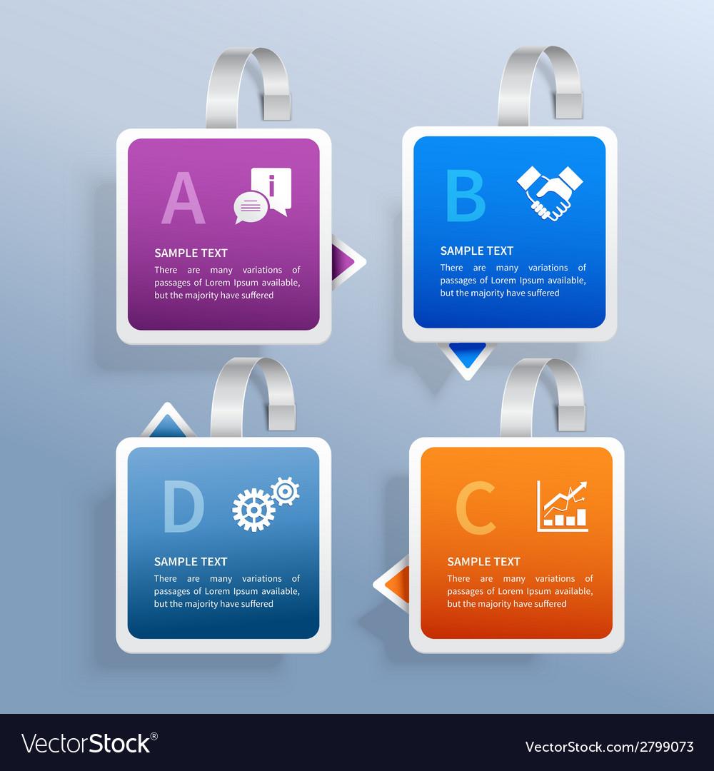 Wobbler infographic set vector | Price: 1 Credit (USD $1)