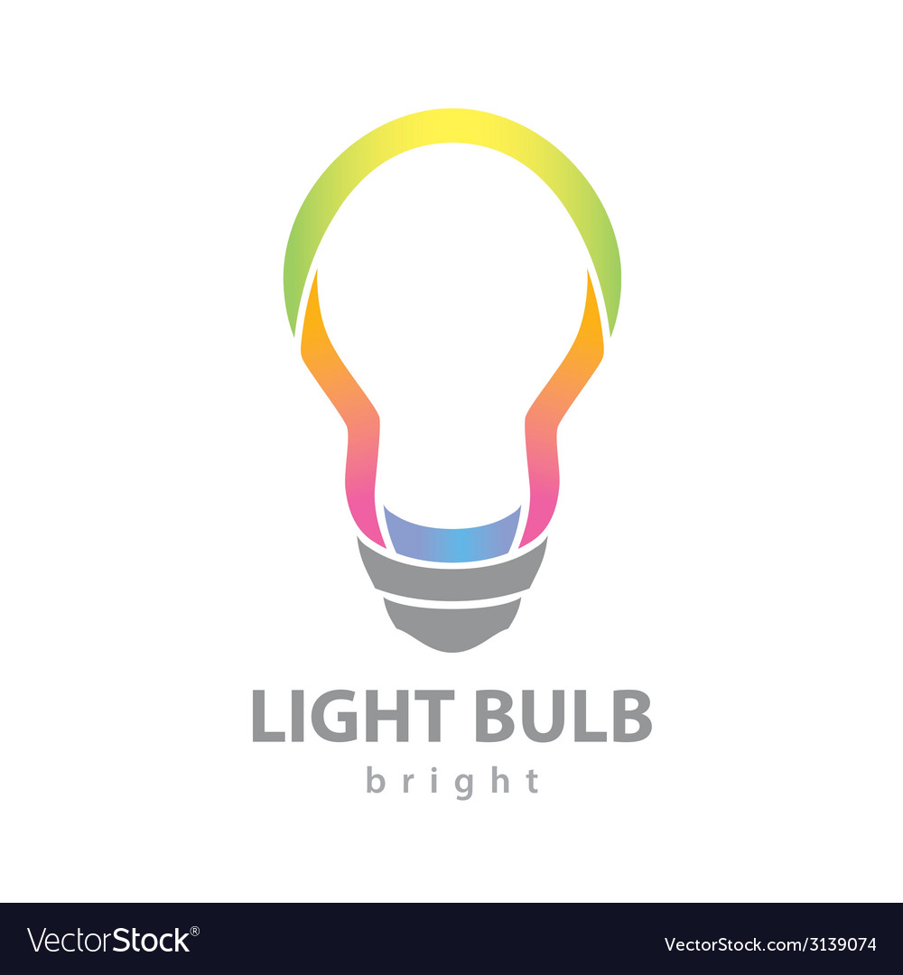 Bright light bulb vector | Price: 1 Credit (USD $1)