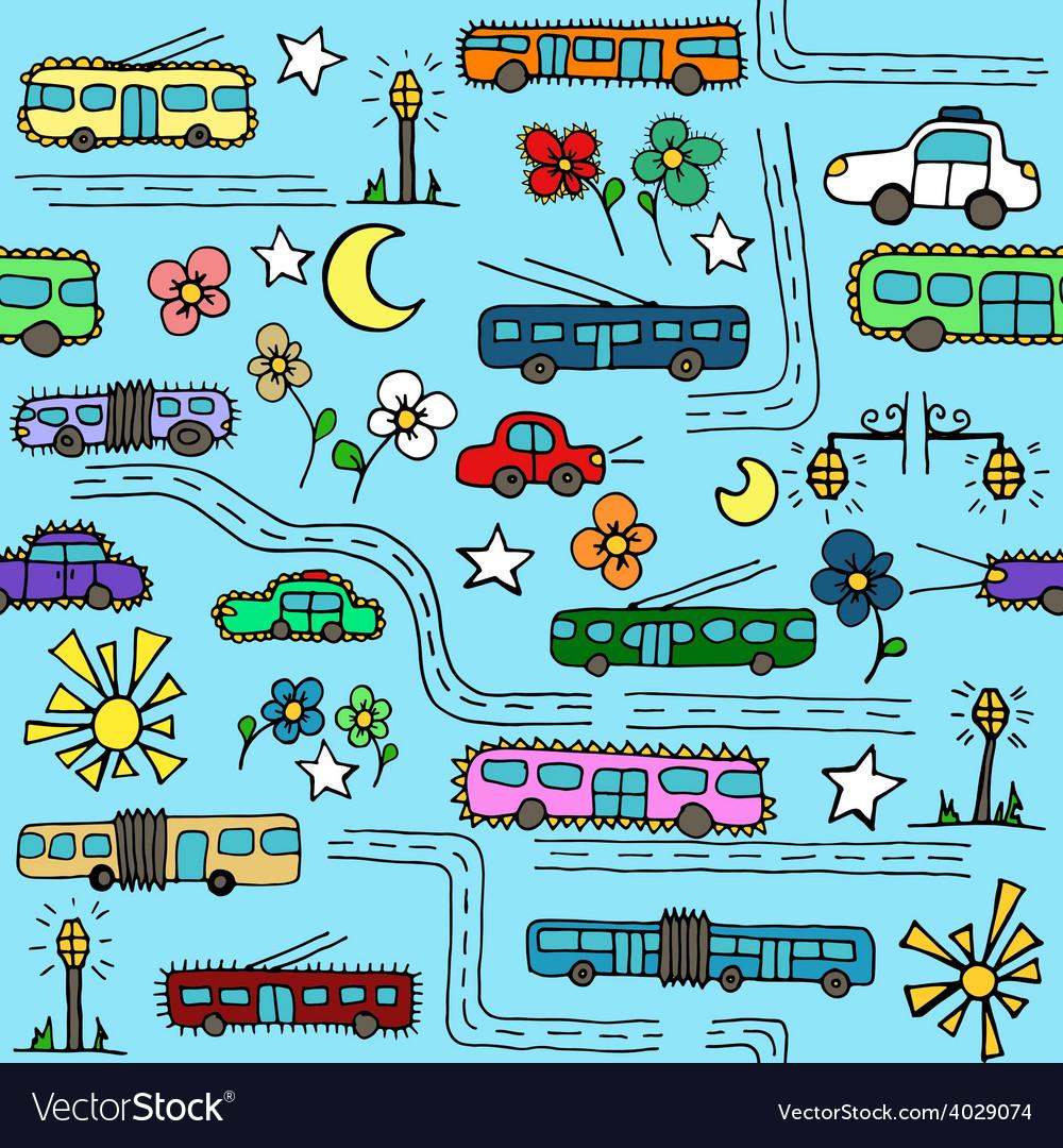 Buspattern vector | Price: 1 Credit (USD $1)