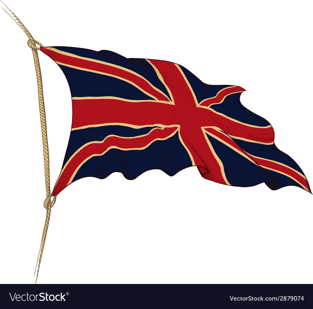 Flag of great britain vector   Price: 1 Credit (USD $1)
