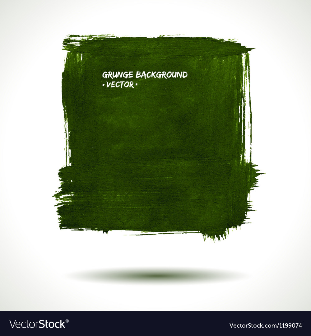 Green grunge shape vector | Price: 1 Credit (USD $1)