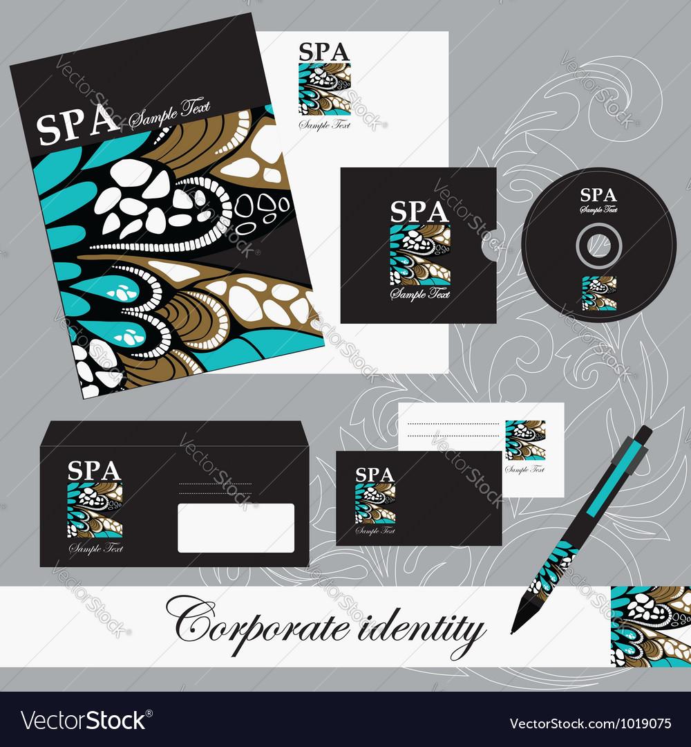 Beautiful corporate set vector | Price: 1 Credit (USD $1)