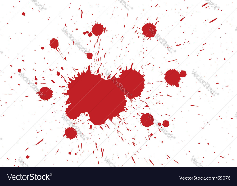 Blood drops vector | Price: 1 Credit (USD $1)