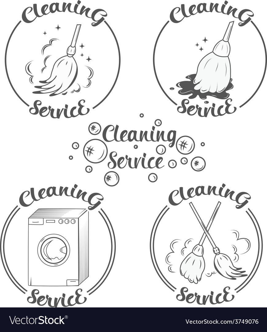Cleaning vector | Price: 1 Credit (USD $1)