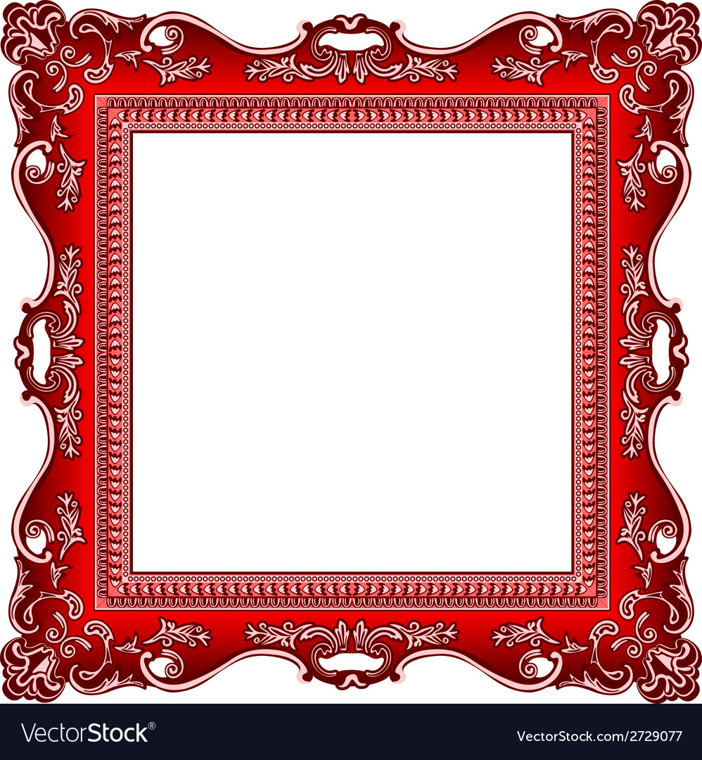 Frame old ornament vector | Price: 1 Credit (USD $1)