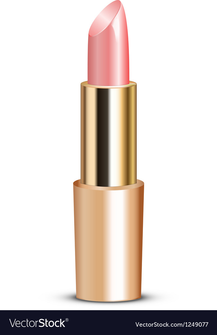 Pink lipstick vector | Price: 1 Credit (USD $1)
