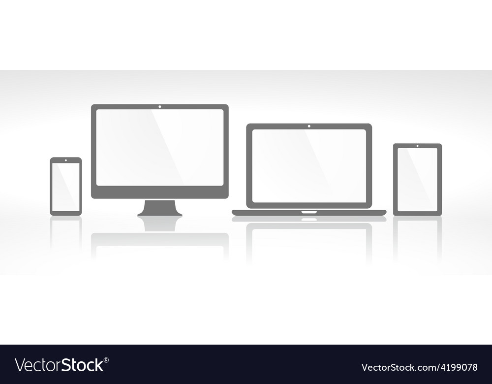 Device icons vector | Price: 1 Credit (USD $1)