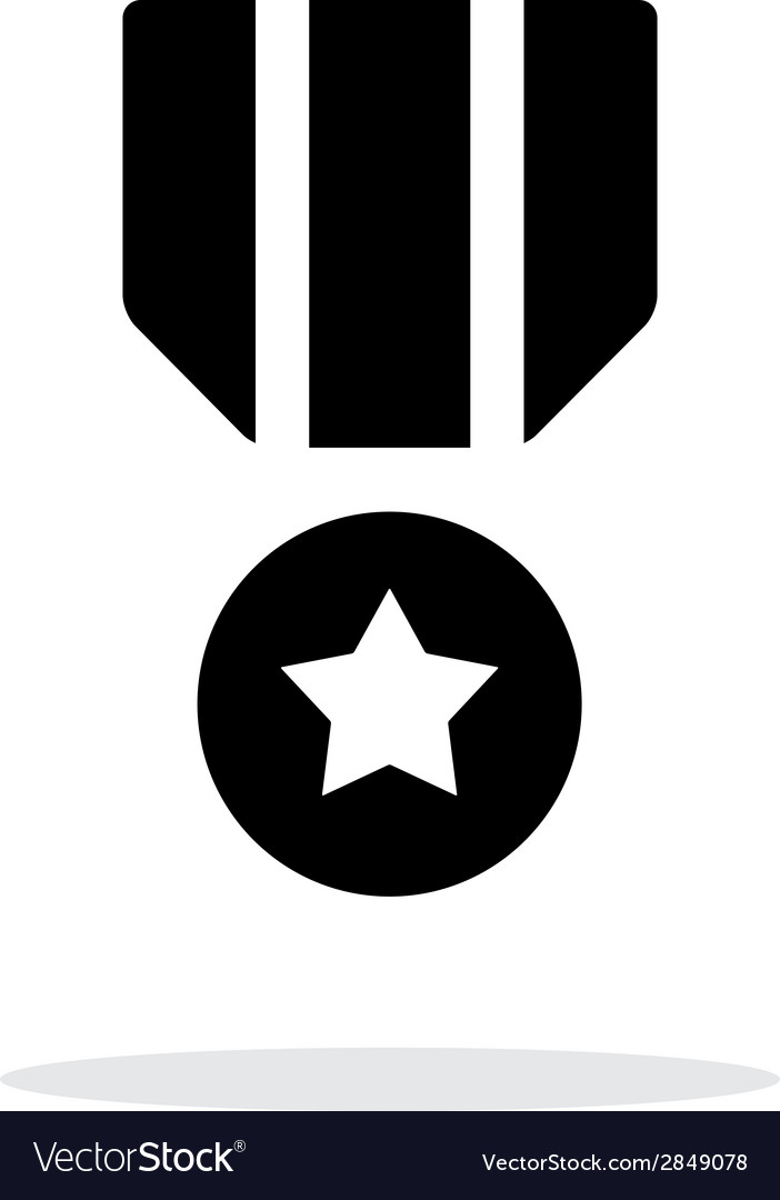 Military medal seample icon vector | Price: 1 Credit (USD $1)