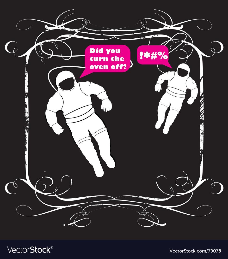 Spacemen vector | Price: 1 Credit (USD $1)