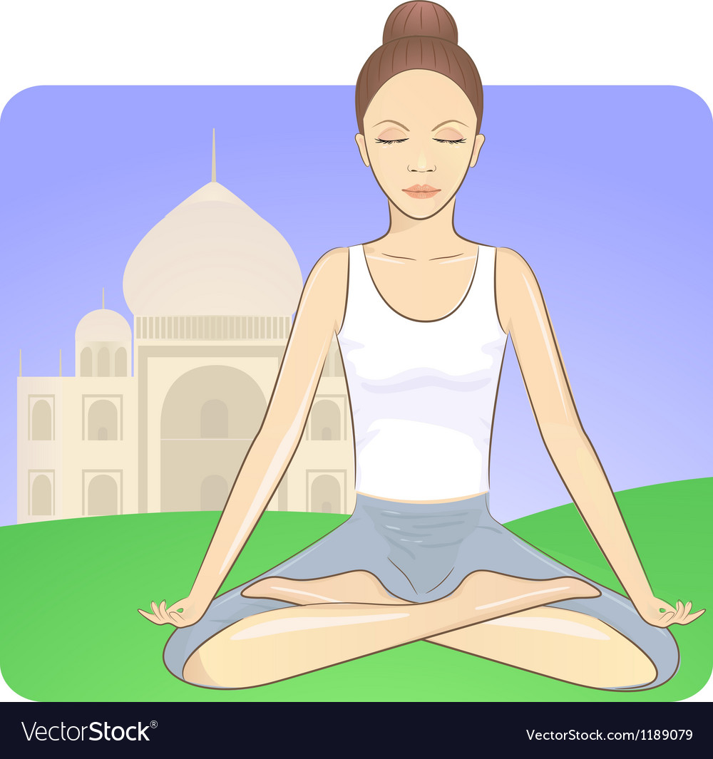 Meditation vector | Price: 3 Credit (USD $3)