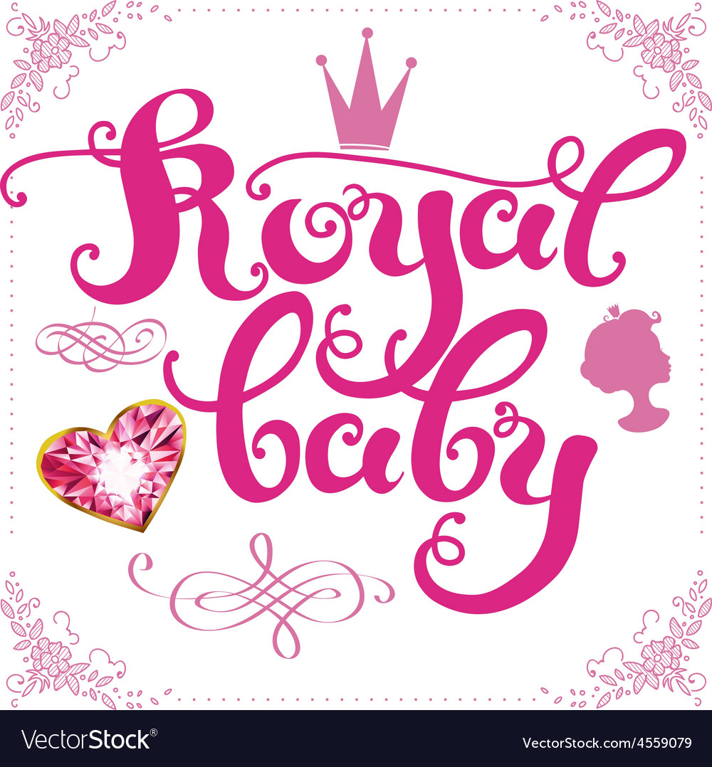 Royal baby vector | Price: 1 Credit (USD $1)