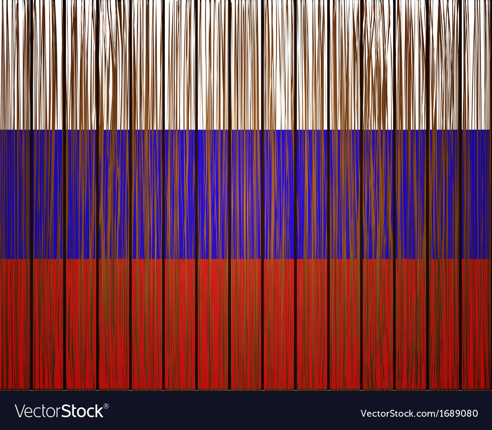Grunge russian flag eps10 vector | Price: 1 Credit (USD $1)