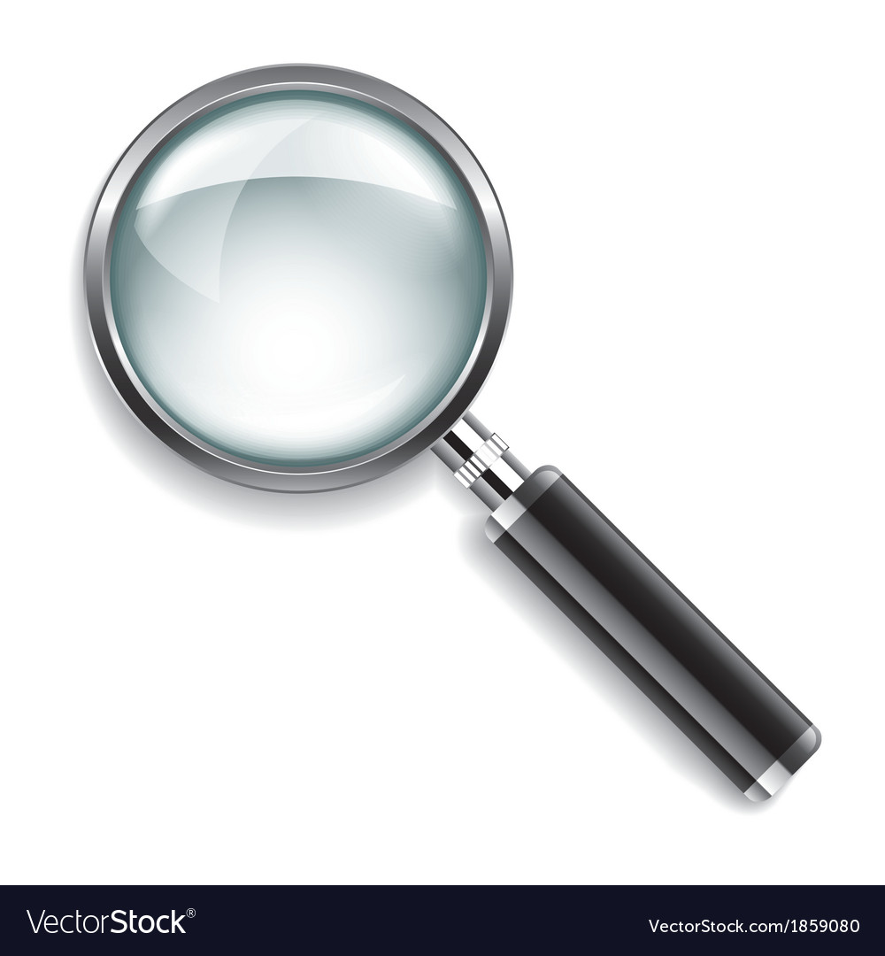 Object magnifier vector | Price: 1 Credit (USD $1)