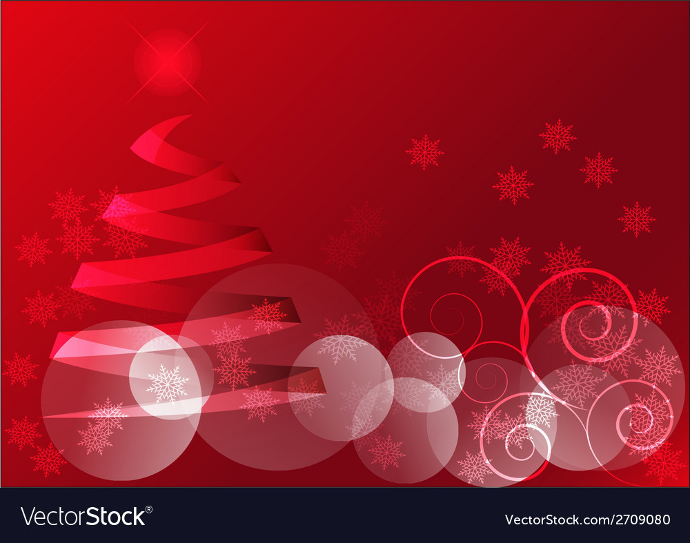 Red christmas motif vector | Price: 1 Credit (USD $1)