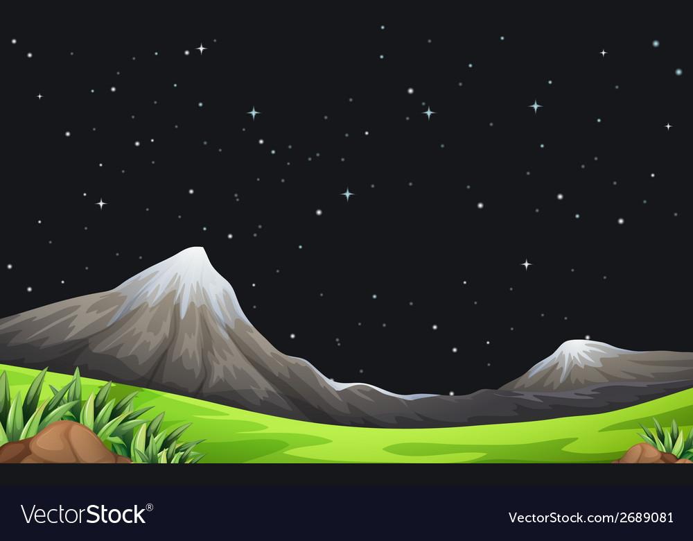 A night scene vector | Price: 3 Credit (USD $3)