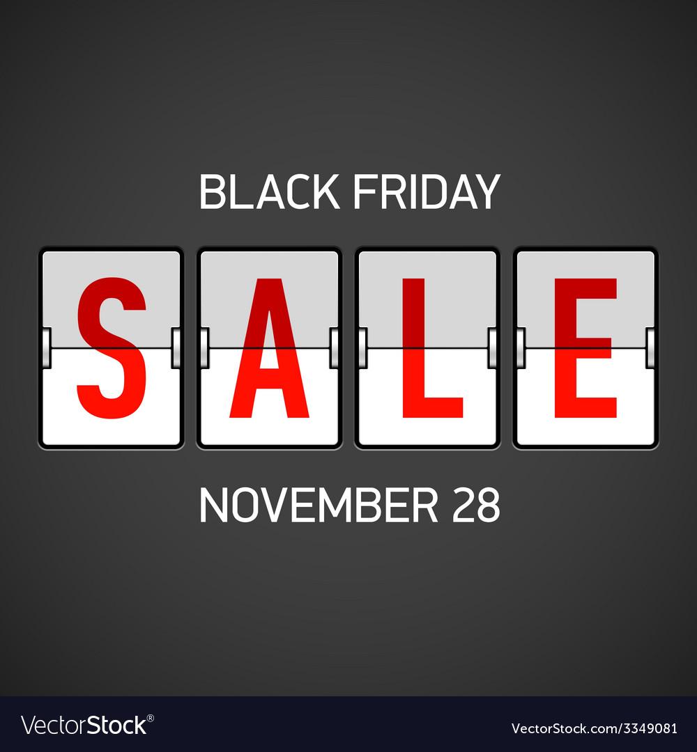 Black friday sale vector   Price: 1 Credit (USD $1)