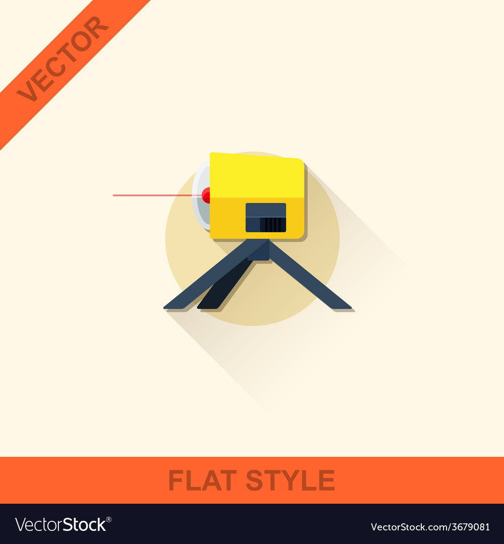 Leveling in a flat style with shadow vector | Price: 1 Credit (USD $1)
