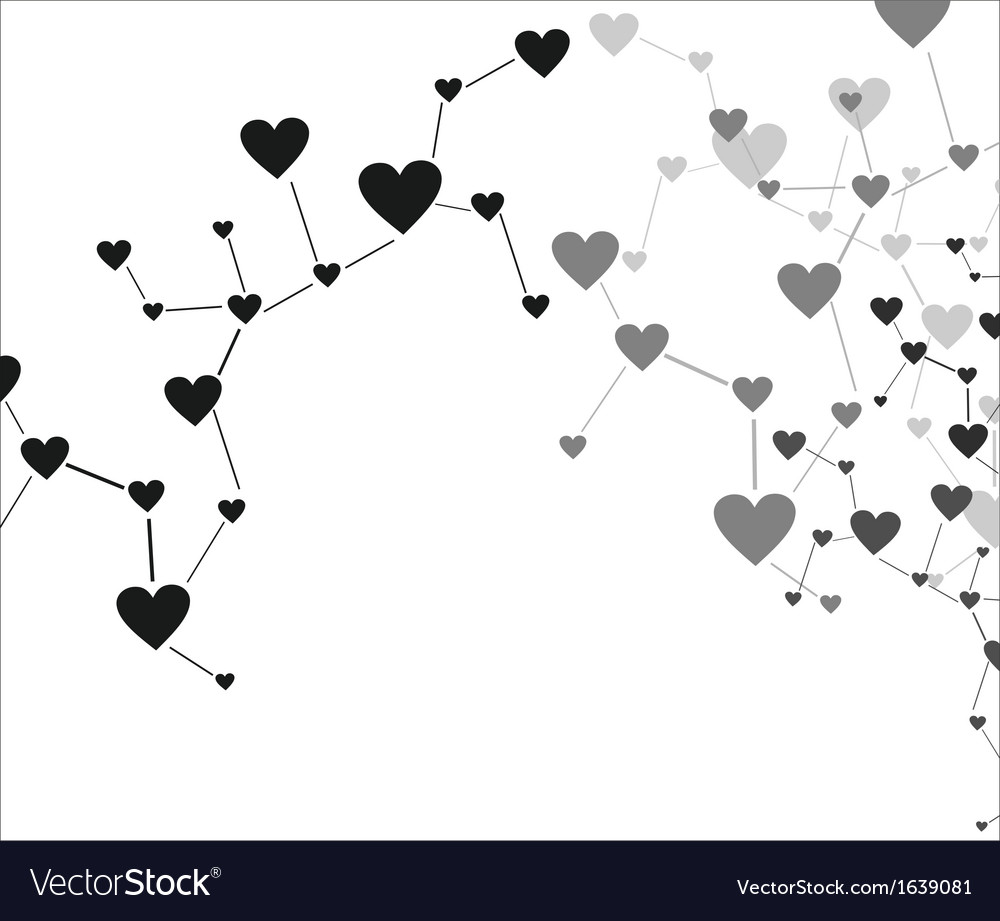 Love connection vector | Price: 1 Credit (USD $1)