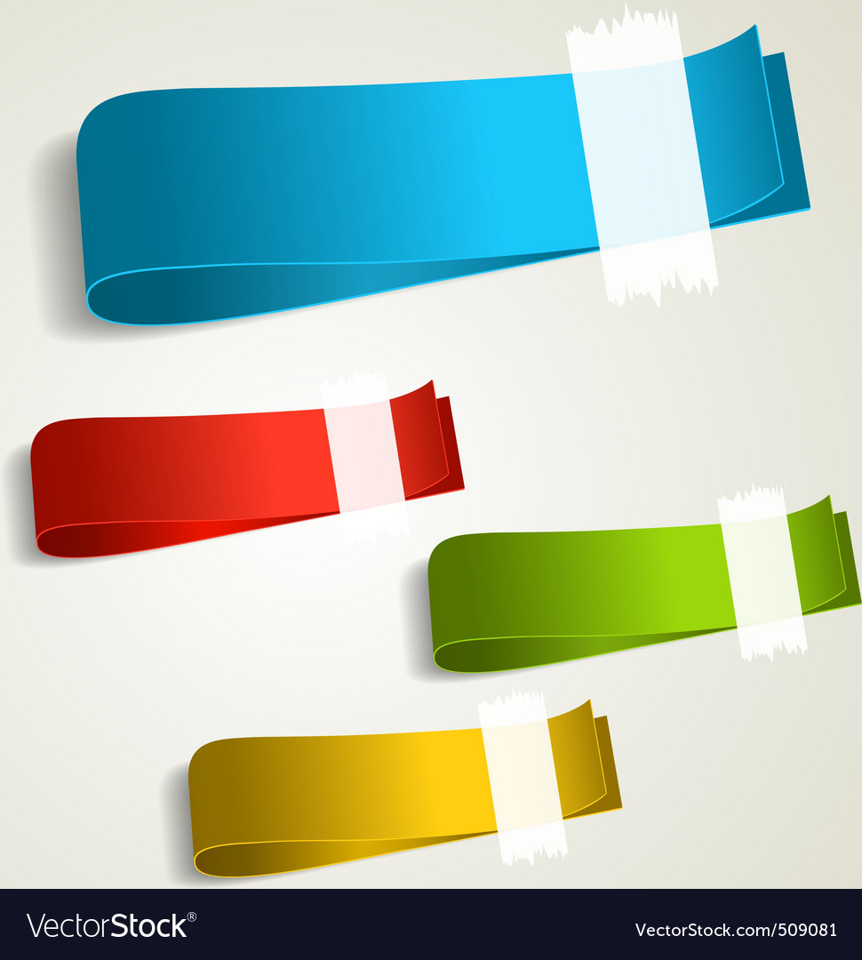Set of colorful tag labels vector | Price: 1 Credit (USD $1)
