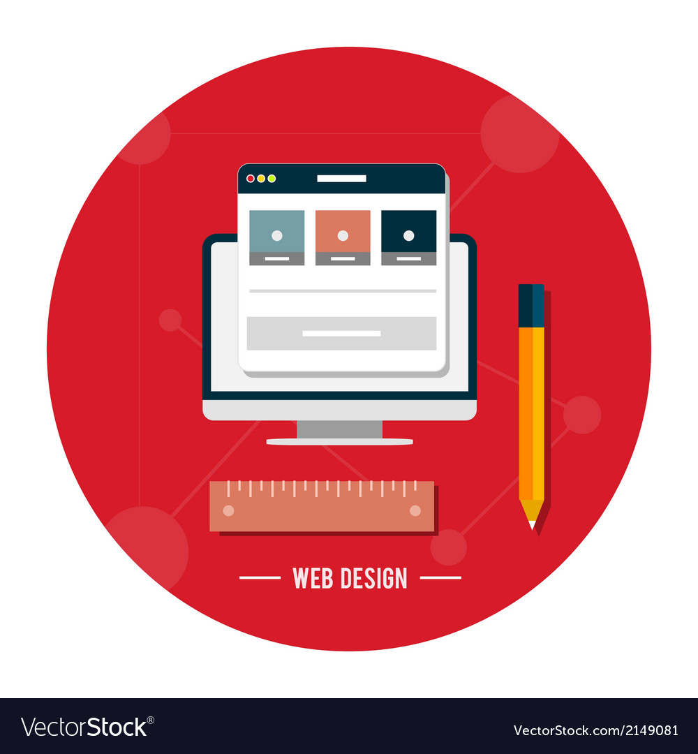Web design concept vector   Price: 1 Credit (USD $1)
