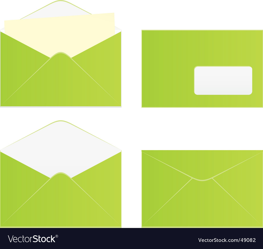 Colored envelopes vector | Price: 1 Credit (USD $1)