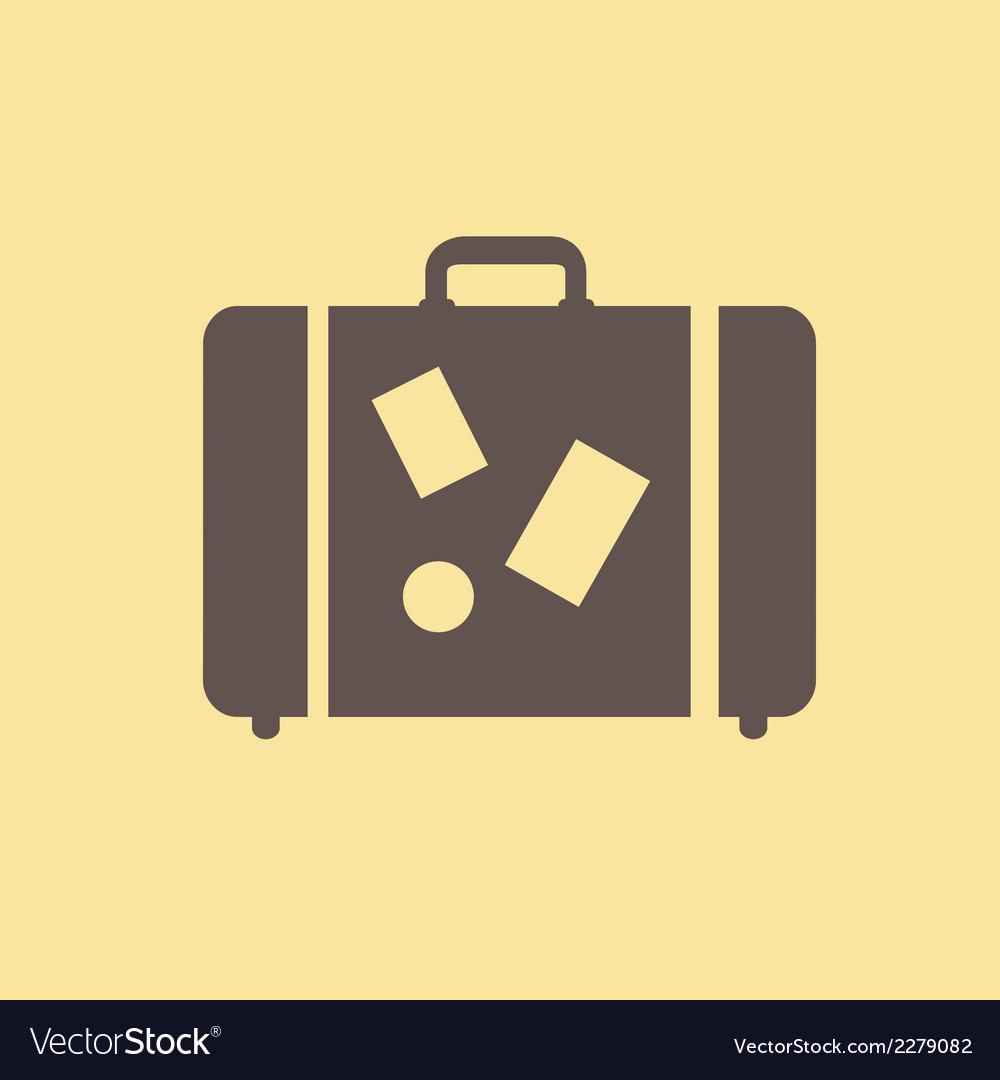 Travel flat icon vector | Price: 1 Credit (USD $1)