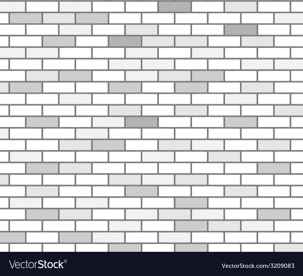 Wall of white bricks and gray vector | Price: 1 Credit (USD $1)