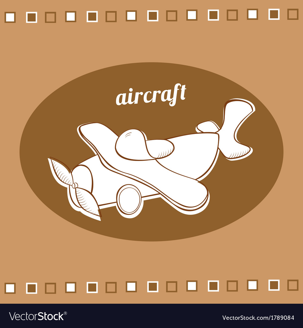 Aircraft vector | Price: 1 Credit (USD $1)