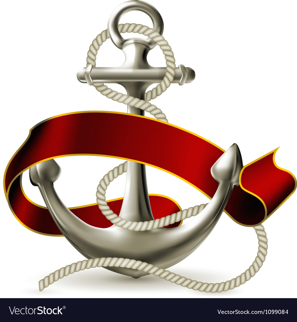 Anchor emblem vector | Price: 1 Credit (USD $1)