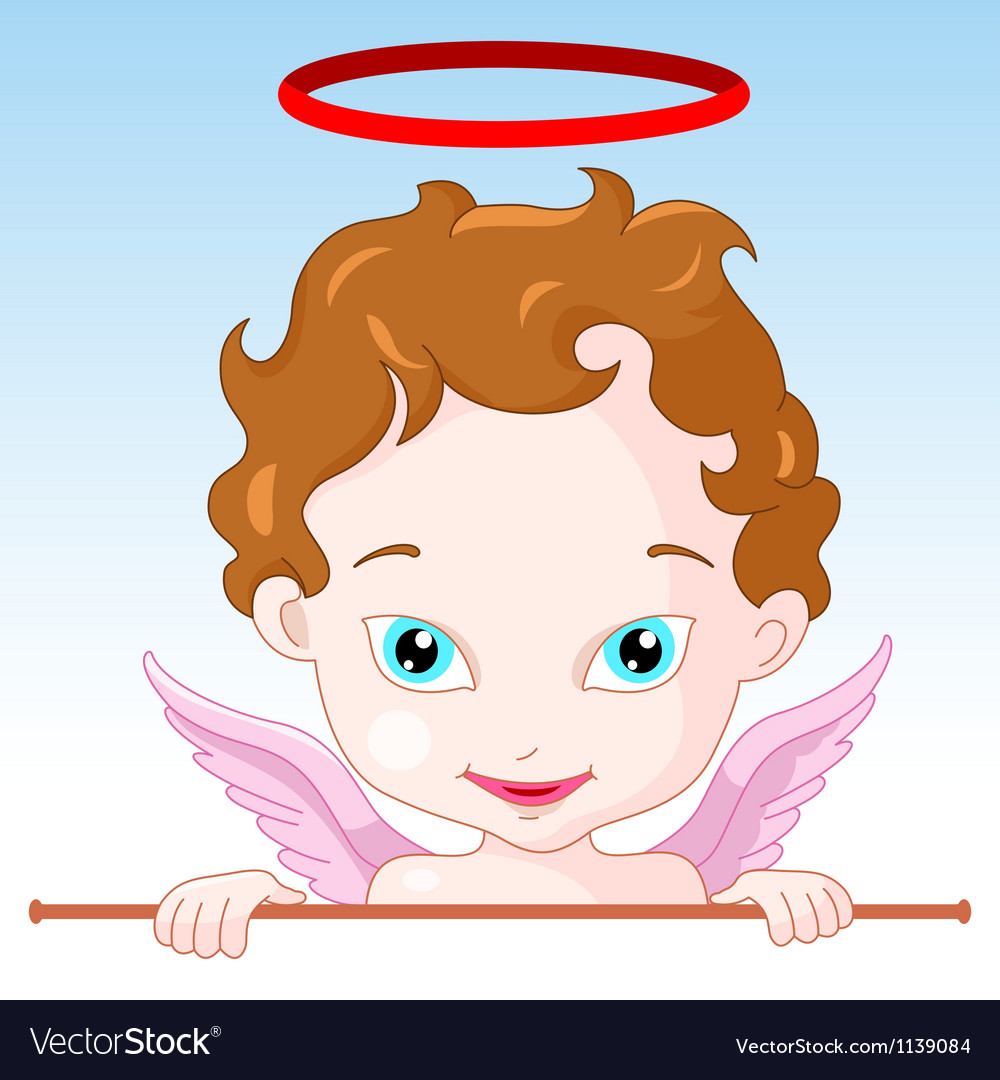 Cupid angel vector | Price: 3 Credit (USD $3)