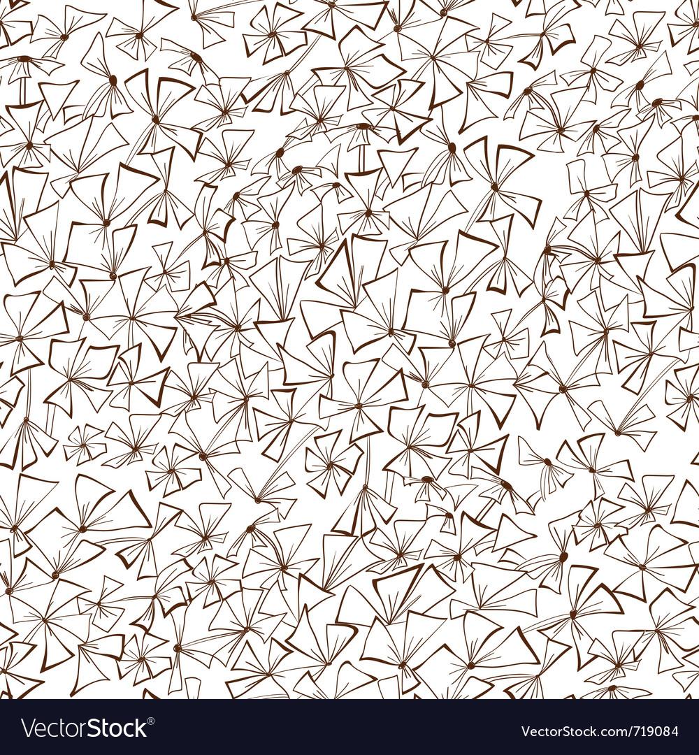 Decorative seamless wallpaper vector | Price: 1 Credit (USD $1)