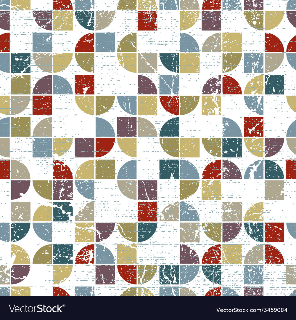 Geometric textile abstract seamless pattern vector | Price: 1 Credit (USD $1)