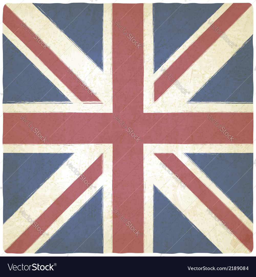 Union jack old background vector | Price: 1 Credit (USD $1)