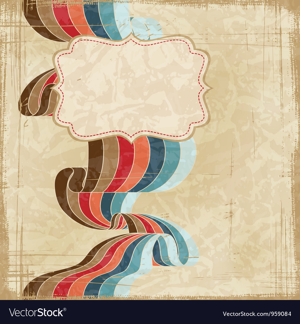 Vintage scratch background with place for text eps vector | Price: 1 Credit (USD $1)