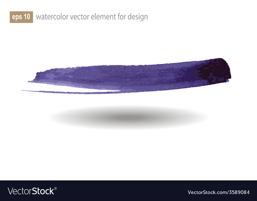 Watercolor abstract elements for design vector | Price: 1 Credit (USD $1)