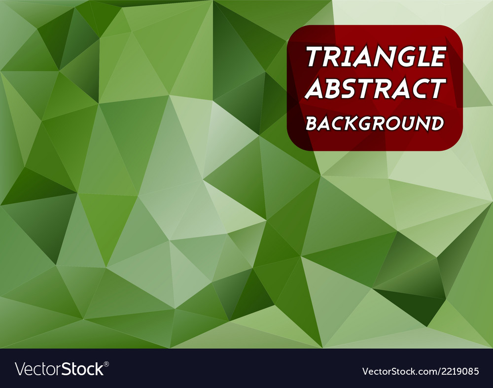 Triangles background vector | Price: 1 Credit (USD $1)