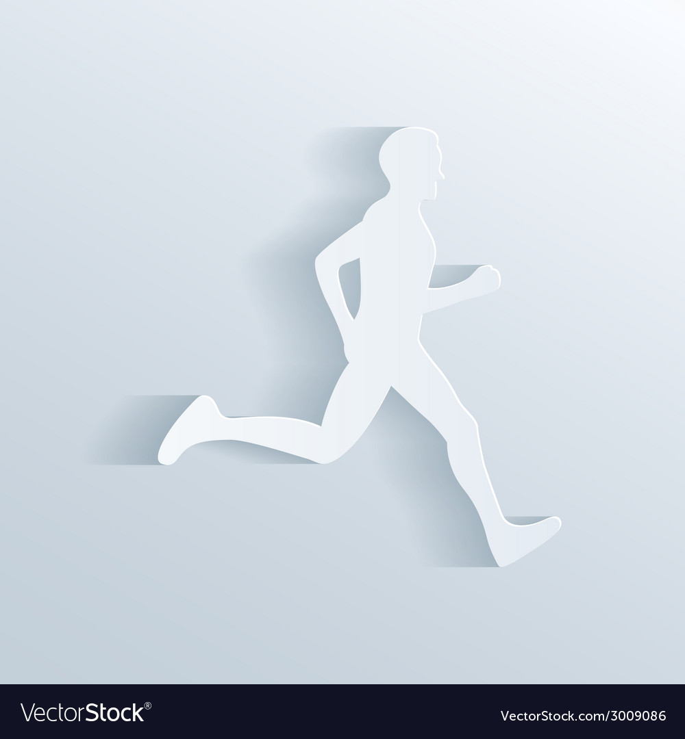Running man vector | Price: 1 Credit (USD $1)