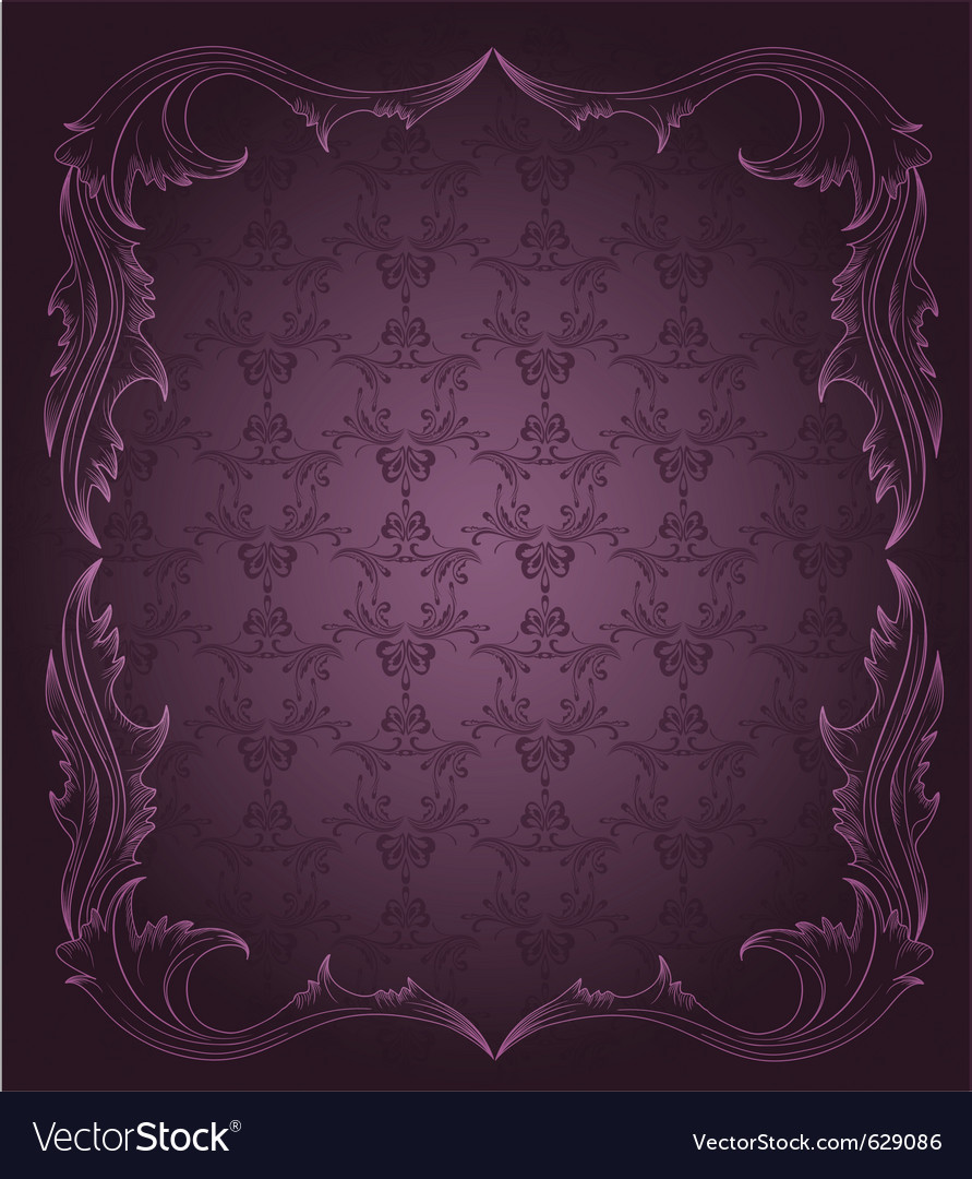 Vintage elegant background vector | Price: 1 Credit (USD $1)